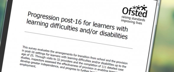 Ofsted calls for government review on post-16 arrangements