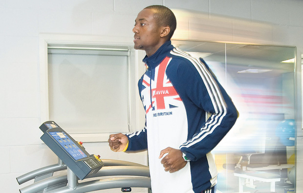 Bedford College's Student of the Year prepares to set the Olympic route on fire