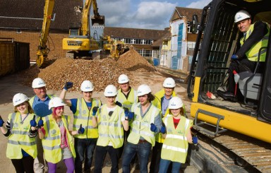 Central Sussex College redevelopment on-time despite 'batty' resident!
