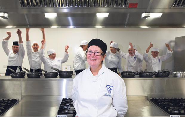 Cornwall College go wild for new £300k training kitchen