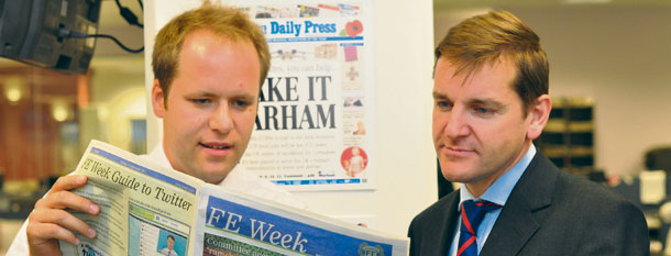 FE Week takes the helm at the Eastern Daily Press