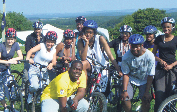 Newham College get on their bikes for Children's Hospice