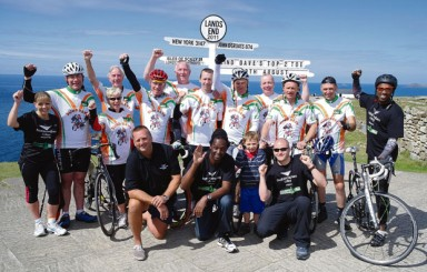 FE Week joins 1000 mile in 10 day charity challenge