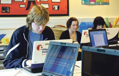 Students have a go at Filton College