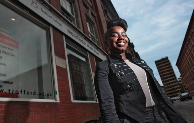 Trafford College's Misha B has the X Factor
