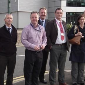 Tyne&Met - Siemens visit