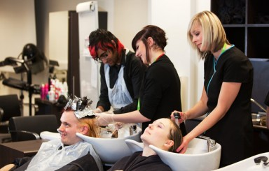 Burton and South Derbyshire college opens stylish new facilities in refurbishment plans