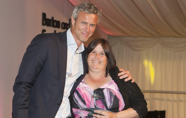 Granny at Burton and South Derbyshire College receives student of the year accolade