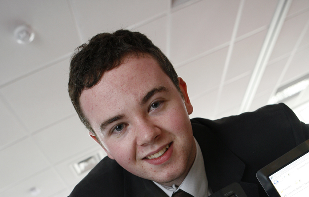 Burton and South Derbyshire College student shows business flair with online company
