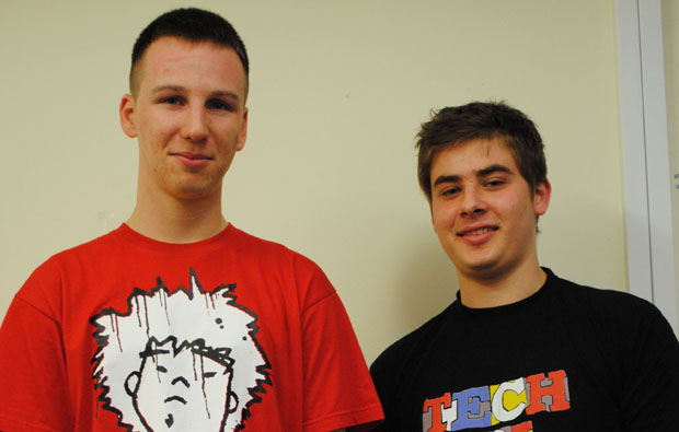 City of Bath College students stand out from the crowd with t-shirt design business