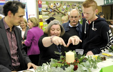 Floristry shop opened at Doncaster College