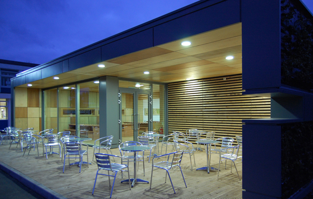 Herefordshire College of Technology go green and win award with sustainable cafe