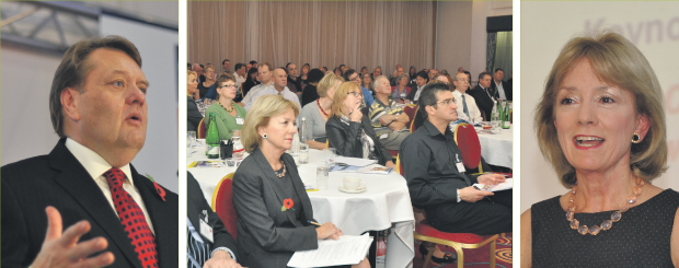 Careers conference told to step up and get with the programme