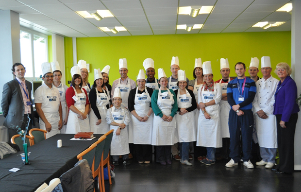 TyneMet College help Proctor and Gamble cook up a storm at Corporate Athlete day