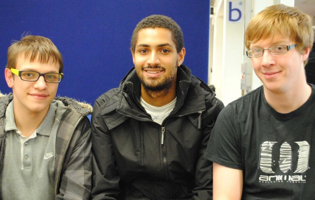 City of Bath College students in business