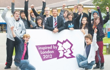 Havering College students inspired by games