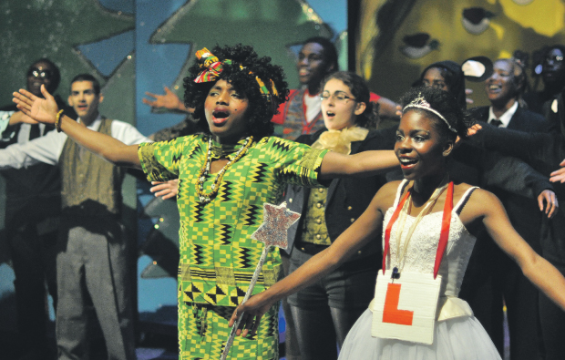 Lewisham College stages an awe-ful Christmas panto