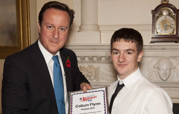 Prime Minister bowled over by kindness of charitable Myerscough College student