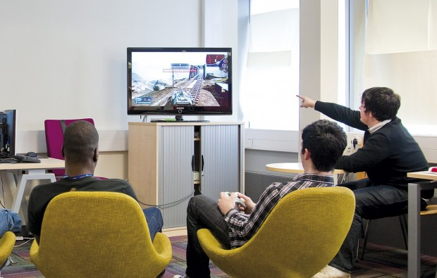 South Thames College hosts speed modelling competition for young video game developers