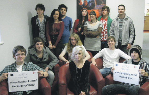 West Suffolk College release charity single
