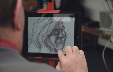 Chesterfield College goes hands on for art