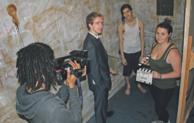 City College Brighton and Hove puts film students behind bars and behind the camera