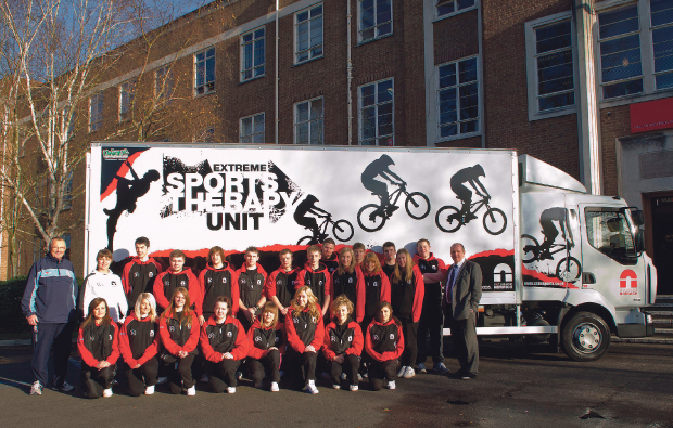City College Norwich Extreme Sports Therapy Unit takes to the road in new truck