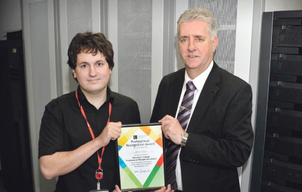 Doncaster College rewards its staff