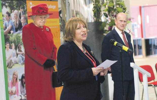 East Surrey College Principal gets Royal seal