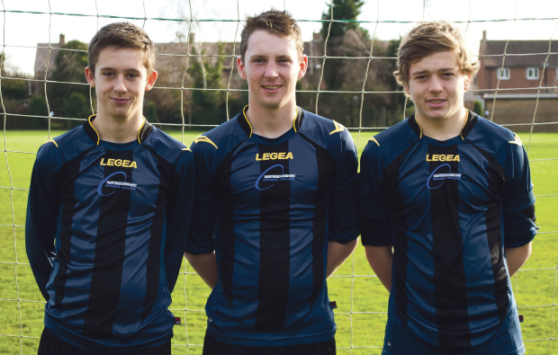 Huntingdonshire Regional College football stars are picked to play for England squad