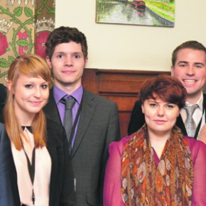 FE Week visits parliament to meet the apprentices working in MP's offices