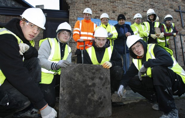 New College Nottingham students building foundations for future construction careers
