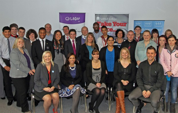 Solihull College students change lives