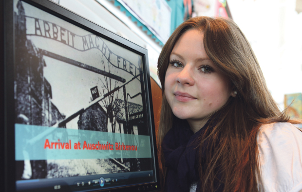 Bolton College student looks back on history