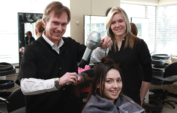 Central Sussex College's MP a cut above the rest for National Apprenticeship Week