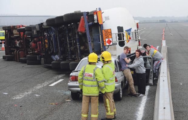 Blackburn College hosts major collision