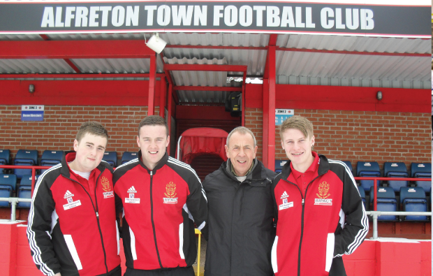Alfreton Town Football Club to recruit up to 40 apprentices from Derby College