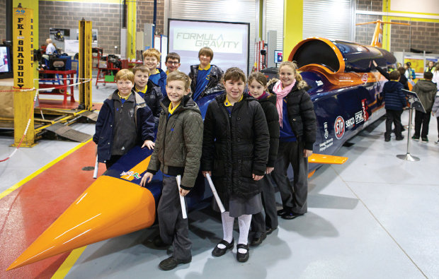 Children inspired by Northampton College initiative