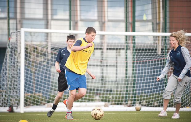 South Cheshire College's brand new Sports Academy to produce future sporting stars