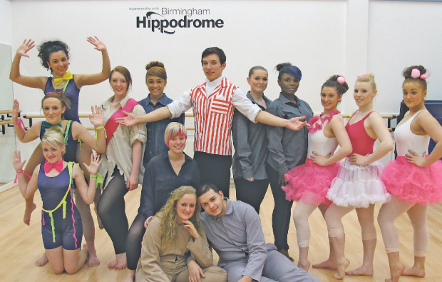 Walsall College students put on their dancing shoes for special performances
