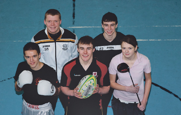 Weston College backs young sports stars