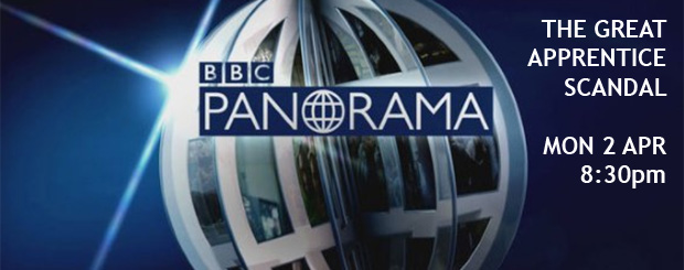 Panorama takes a look at The Great Apprentice Scandal
