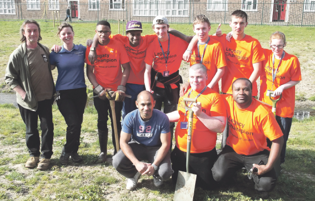 Barking & Dagenham College volunteers