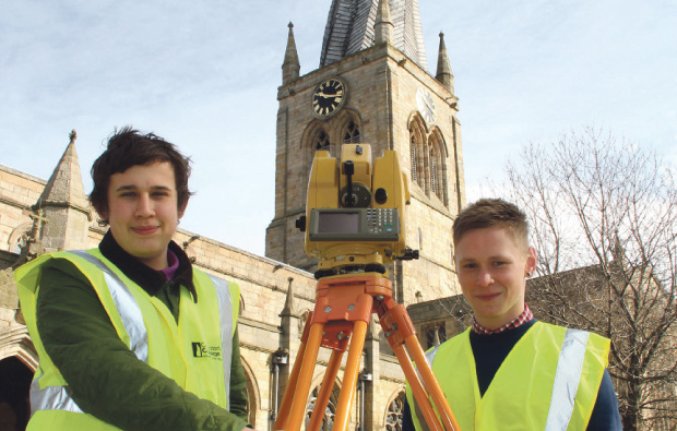 Chesterfield College students measure up