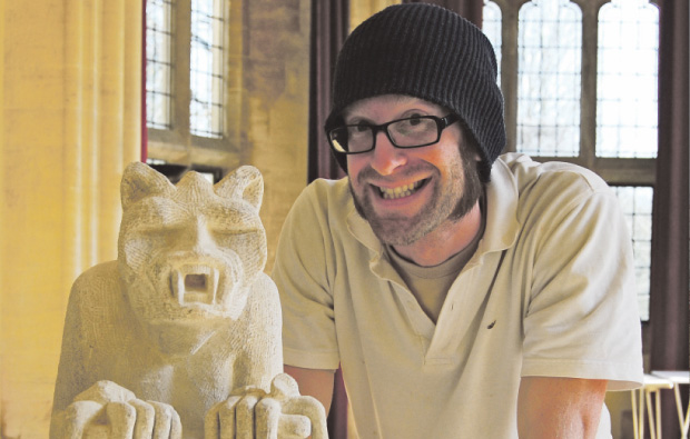 City of Bath College stonemasons help restore local mansion