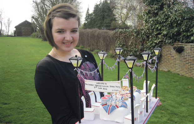 Havering College student bakes well
