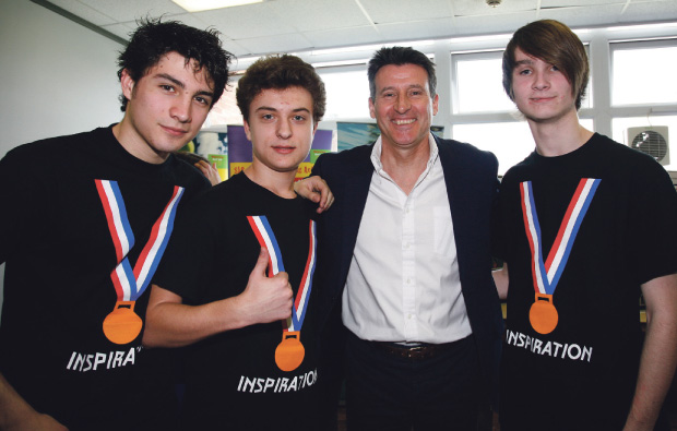 Olympic inspiration at Havering College