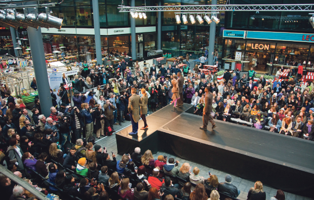 Havering College students show fashion flair