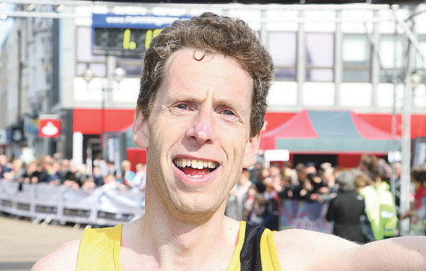 Marathon man at South Cheshire College