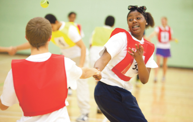 South Thames College's Olympic helpers